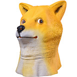 Maschere di Halloween / Maschera Animal Shiba Inu Dog Capo Forniture per feste Halloween / Mascherata 1PCS