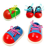 Small Shoes Kindergarten Children Learn To Wear Line