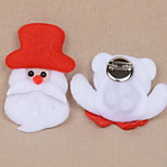 Christmas Light Cartoon Christmas Flannel Festival Decorations Bar Brooch