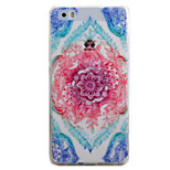 For HUAWEI P9 P8Lite Y5C Y6 Y625 Y635 5X 4X G8 Case Cover Color Four-Corner Flower Pattern TPU Material Phone Shell