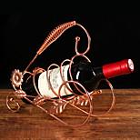 Vinreoler Støbejern,26*9.5*23.5CM Vin Tilbehør