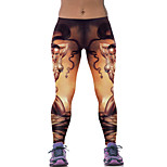 Running Bottoms Women's Breathable Cotton Yoga / Running Sports Inelastic Slim Indoor / Outdoor clothing / Leisure Sports / Athleisure