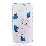 Lily Pattern Tpu Material Highly Transparent Phone Case For LG K7 K8 K10 G5