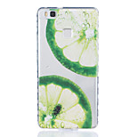 Lemon Pattern Tpu Material Highly Transparent Phone Case For Huawei P9 P9 Plus Y5II Y6II