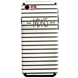 Stripe Pattern TPU Silk Material Pattern of Paste Skin Phone Case For iPhone 7 7 Plus