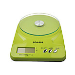 Glass Kitchen Scale (Color Green)