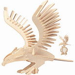 Jigsaw Puzzles Wooden Puzzles Building Blocks DIY Toys Eagle 1 Wood Ivory Puzzle Toy