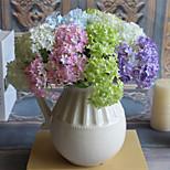 3PCS Hydrangea  Artificial Flower Home Decoration