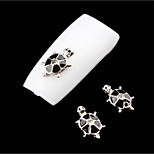 5Pcs Nail Art Act The Role Ofing Is Tasted Cute Little Turtle