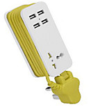 Portable Travel USB Socket USB Plug - In USB Plug - In Smart Socket Conversion