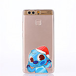 Cartoon Pattern Soft Ultra-thin TPU Back Cover for Huawei P9Plus P9Lite P9 P8lite P8
