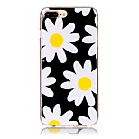 Chrysanthemum Pattern HD Painted TPU Material Phone Shell For iPhone 7 7 Plus 6s 6 Plus