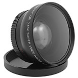52MM 0.45x Wide Angle Lens  Macro Lens for Cannon D5000 D5100 D3100 D7000 D3200 D80 D90 DSLR Camera