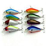 1 pcs Minnow Minnow Random Colors 8.9 g Ounce mm inch,Hard Plastic Bait Casting