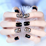 24Pcs Geometrical Design Tide Riveting Nail Patch Nail To Be Bestowed Favor On Newly 1Set