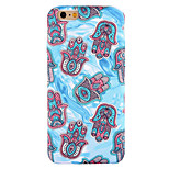Para Funda iPhone 6 / Funda iPhone 6 Plus / Funda iPhone 5 Diseños Funda Cubierta Trasera Funda Azulejos Suave Silicona AppleiPhone 6s