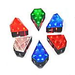 Luz Trasera para Bicicleta LED - Ciclismo Recargable 300 Lumens Cargadores de Coche Azul / Rojo / Verde / Blanco cálido Ciclismo-