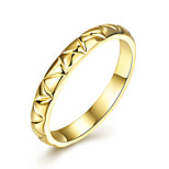 Women's Rings Band Rings Jewelry Hallowas/Party/Daily/Wedding Fashion Tin Alloys/ Gold Plated Golden 1pc Gift