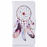 Wind Chimes Pattern Leather PU Leather Material Leather Phone Case for  Huawei P9 P9 Lite  Y5II  Y6II 5A