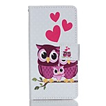 Full Body Card Holder / Wallet / Flip / Pattern Owl PU Leather Hard Case Cover For Lenovo Lenovo A6000