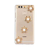 DIY Golden Flower Pattern PC Hard Case for Huawei P9 Plus LITE P8 LITE Honor 8 7 6 6Plus 5C 5X 4X 4C 4A Mate8 7