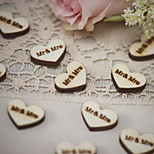 Wood / Eco-friendly Material Wedding Decorations-50Piece/Set Spring / Summer / Fall / Winter Non-personalized