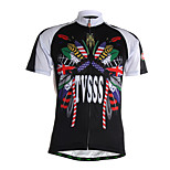 Sports Cycling Jersey Men's Short Sleeve Breathable / Quick Dry / Front Zipper / Wearable / Soft /
