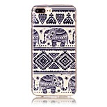 Per Custodia iPhone 7 / Custodia iPhone 7 Plus / Custodia iPhone 6 Fantasia/disegno Custodia Custodia posteriore Custodia Con elefante