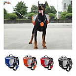 Dog Dog Pack Pet Carrier Waterproof / Portable Red / Black / Blue / Orange Nylon