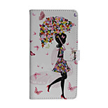 Adorable Girl PU Leather Around Open Holster for Moto Z   Z Force G4Play G4