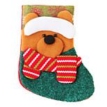 Textile Snowman Sock