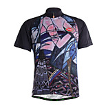 Sports Cycling Jersey Men's Short Sleeve Breathable / Quick Dry / Front Zipper /Soft / Comfortable Bike Jersey