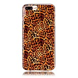 Leopard Pattern HD Painted TPU Material Phone Shell For iPhone 7 7 Plus 6s 6 Plus