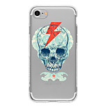 Skeleton 4 TPU Case For Iphone 7 7Plus 6S/6  6Plus/6S Plus