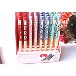 Cute Korean Slim Pencil Rod(40PCS)