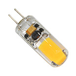 3W G4 Luces LED de Doble Pin T 1 COB 250-280 lm Blanco Cálido Regulable V 1 pieza