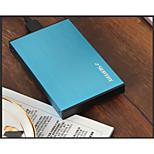 HD218 aleación de aluminio del tornillo de la herramienta para reconocer caja para disco duro SATA ver color de 6 g al azar