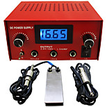 Solong tattoo Dual Machine Tattoo Power Supply for Machine  Needle Grip Ink Kit P114-2