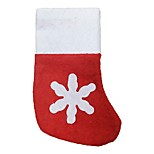 Christmas Decorations Non-Woven Christmas Stockings Mini Cutlery Tray Small Socks 12 Pieces / Lot