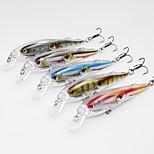 1 pcs Fishing Lures Vibration/VIB Black / Yellow / Gray / Red / Blue 12 g Ounce mm inch,Hard Plastic Bait Casting