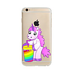 Drinks Unicorn TPU Soft Case Cover for apple iPhone 7 7 Plus iPhone 6 6 Plus iPhone 5 5C iPhone 4