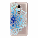 For Huawei Case Ultra-thin / Pattern Case Back Cover Case Lace Printing Soft TPU Huawei Huawei Y635 / Huawei Honor 5X