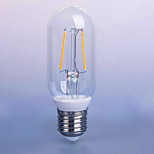 2W AC220-240v E26/E27 LED Filament Bulbs P45 2 SMD 5730 140 lm Warm White Decorative V 1 pcs