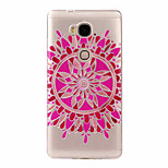 For Huawei Case Ultra-thin / Pattern / Embossed Case Back Cover Case Flower Soft TPU Huawei Huawei Y635 / Huawei Honor 5X