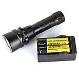 Underwater 100M 2000LM XM-L2 LED Scuba Diving Flashlight Torch Light Waterproof Full set Of Battery Charger