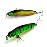 1 pcs Minnow Minnow Random Colors 7.9 g Ounce mm inch,Hard Plastic Bait Casting