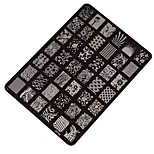 Best Deal Good Quality Nail Stamping Printing Plate Manicure Nail Art Decor Image Stamps Plate