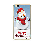 For Pattern Case Back Cover Case Christmas Soft TPU Huawei Huawei P9 / Huawei P9 Lite / Huawei P8 / Huawei P8 Lite