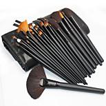 32pcs Makeup Brushes Set Nylon Professional / Portable Wood Face / Eye / Lip