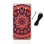 For Samsung Galaxy J1(2016) J3(2016) J5(2016)  Back Cover Case Mandala Soft TPU  J1 J3 J5